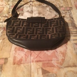 Fendi small purse multiple sections